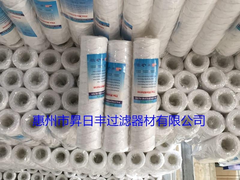 线绕棉芯pp滤芯折叠滤芯惠州供应