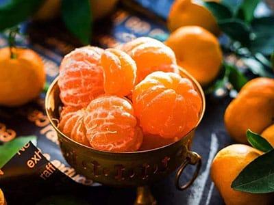 百色柑橘打进国外市场